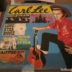 Discos de vinilo: LP CARL LEE & THE RHYTHM REBELS NEO ROCKABILLY. Lote 184690477