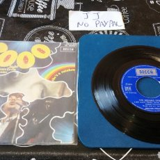 Discos de vinilo: ROLLING STONES 2000 LIGHT YEARS FROM HOME SHE, S A RAINBOW INEDITO EN TC VER FOTOS FIRMA A BOLI. Lote 184690771