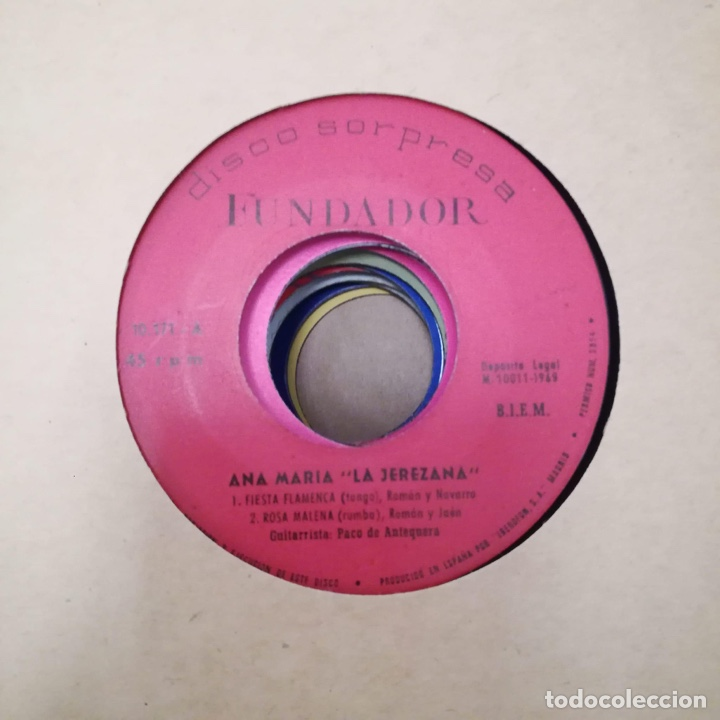 Discos de vinilo: Lote de single él fundador etc ver fotos - Foto 6 - 184697250