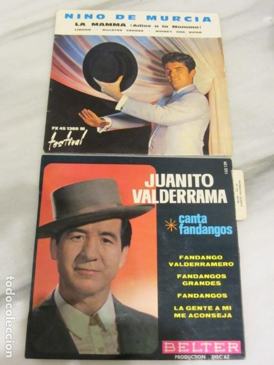 Discos de vinilo: Lote de 27 discos Singles en Español - Foto 4 - 184699207