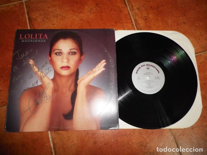 Discos de vinilo: LOLITA Madrugada LP VINILO USA FIRMADO EN LA PORTADA 1990 CONTIENE 10 TEMAS RARO AUTOGRAFO MUY RARO - Foto 2 - 184701966