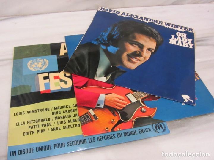 3 LPS EN INGLES. (Música - Discos de Vinilo - Maxi Singles - Otros estilos)