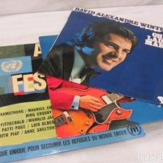 Discos de vinilo: 3 LPS EN INGLES.. Lote 184702147