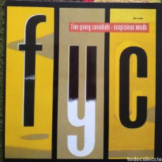 Dischi in vinile: FINE YOUNG CANNIBALS ‎–SUSPICIOUS MINDS. Lote 184702645