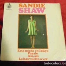Discos de vinilo: SANDIE SHAW – ESTA NOCHE EN TOKYO - EP 1967. Lote 184703961