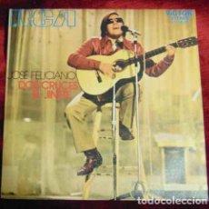 Disques de vinyle: JOSÉ FELICIANO – DOS CRUCES / EL JINETE - SINGLE. Lote 184704232