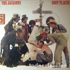 Discos de vinilo: THE JACKSONS ‎– GOIN' PLACES . Lote 184712113