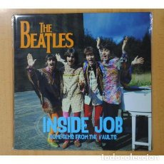 Discos de vinilo: THE BEATLES ‎– INSIDE JOB SOME GEMS FROM THE VAULTS -LP-. Lote 184715675