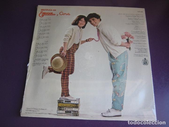 Discos de vinilo: Multiplica Con Enrique Y Ana LP HISPAVOX PRECINTADO 1980 - TVE TELEVISION - GLORIA FUERTES + LIBRETO - Foto 2 - 184716876