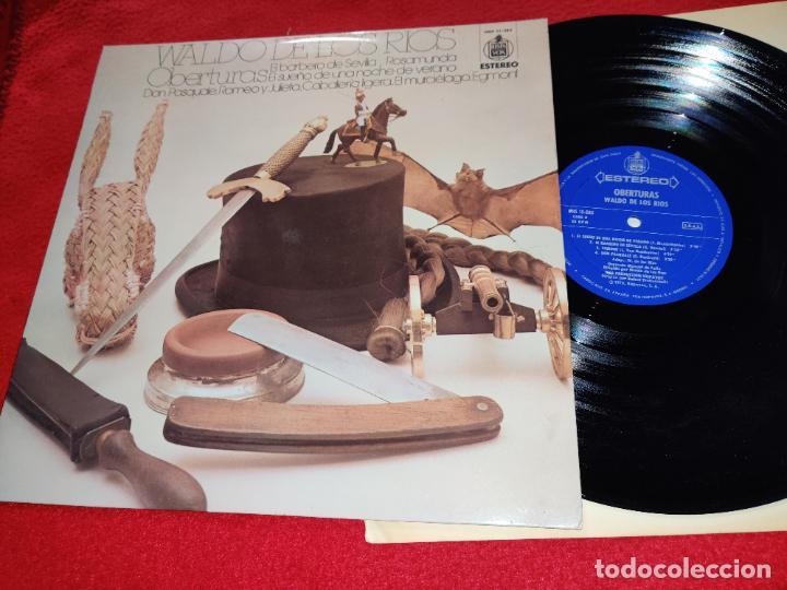 WALDO DE LOS RIOS OBERTURAS LP 1975 HISPAVOX EXCELENTE ESTADO (Música - Discos - LP Vinilo - Grupos Españoles de los 70 y 80)