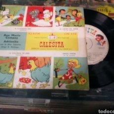 Discos de vinilo: DISCO INFANTIL - DISCOS CALESITA - ANA MARIA CAMPOY - ADRIANITA. Lote 184736092