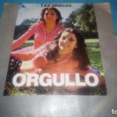 Discos de vinilo: LAS GRECAS, ORGULLO. CBS. Lote 184739976