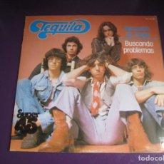 Discos de vinilo: TEQUILA MAXI SINGLE NOVOLA 1978 - NECESITO UN TRAGO / BUSCANDO PROBLEMAS - ARGENTINA ROCK N ROLL . Lote 184740038