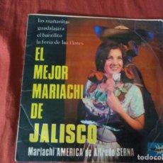 Discos de vinilo: EL MEJOR MARIACHI DE JALISCO LAS MAÑANITAS. Lote 184744303