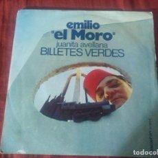 Discos de vinilo: EMILIO EL MORO JUANITA AVELLANA. Lote 184745231