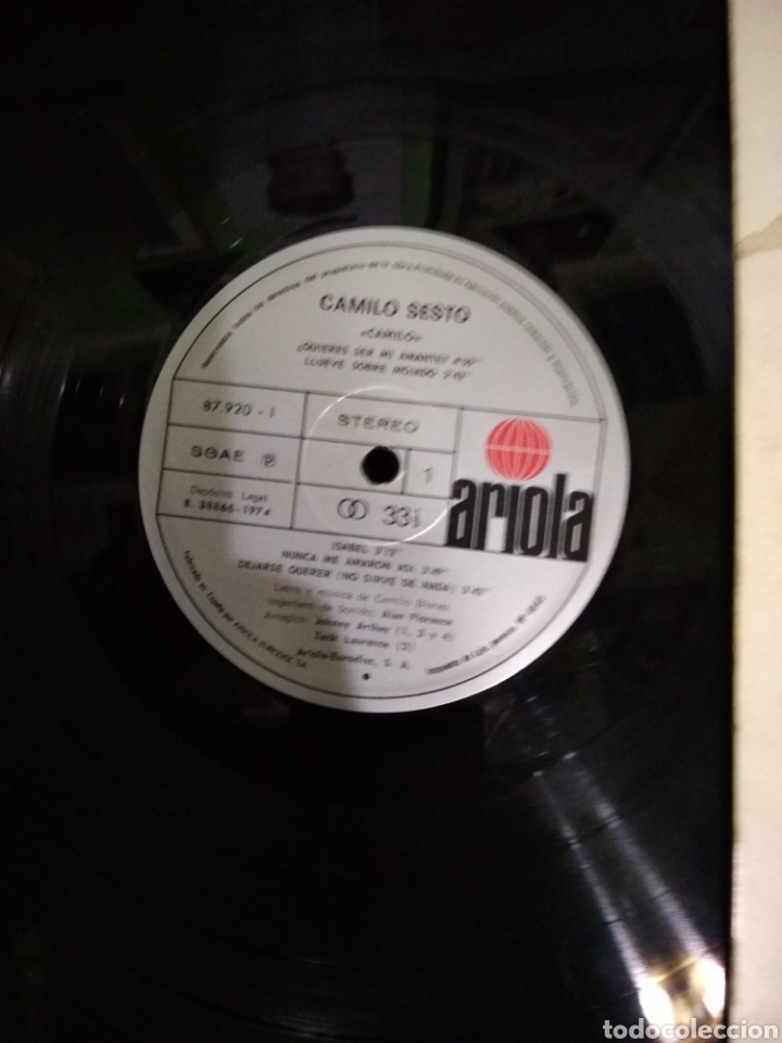 Discos de vinilo: Camilo sexto camilo - Foto 3 - 184750388