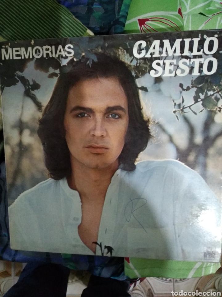 CAMILO SEXTO MEMORIAS (Música - Discos - LP Vinilo - Flamenco, Canción española y Cuplé)