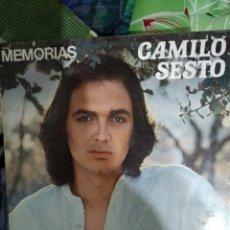 Discos de vinilo: CAMILO SEXTO MEMORIAS. Lote 184750528