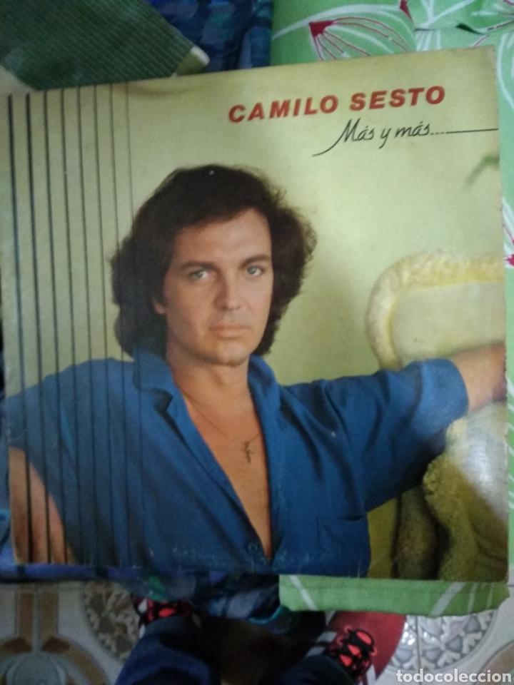 CAMILO SEXTO MAS Y MAS (Música - Discos - LP Vinilo - Flamenco, Canción española y Cuplé)