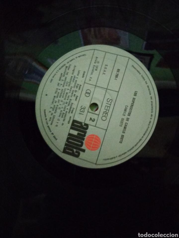 Discos de vinilo: Los superexitos de camilo sexto - Foto 3 - 184750748