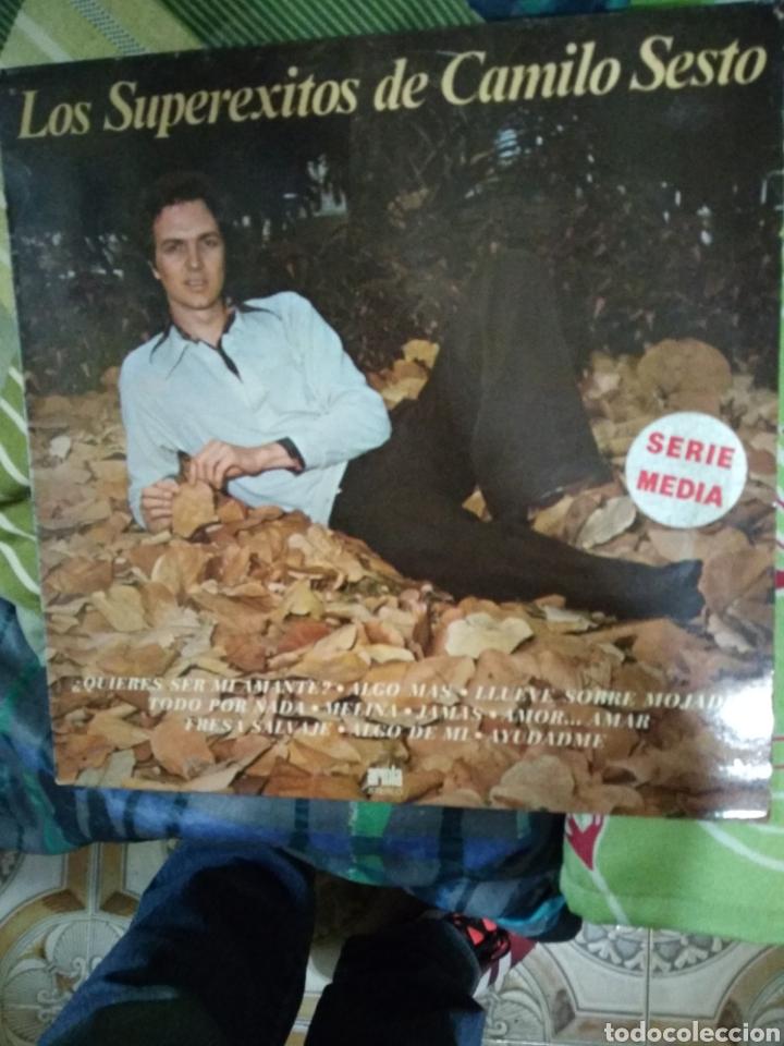 LOS SUPEREXITOS DE CAMILO SEXTO (Música - Discos - LP Vinilo - Flamenco, Canción española y Cuplé)