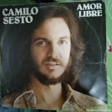 Discos de vinilo: CAMILO SEXTO AMOR LIBRE. Lote 184750983