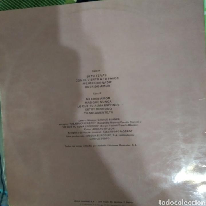 Discos de vinilo: Camilo sexto rasgos - Foto 2 - 184751126