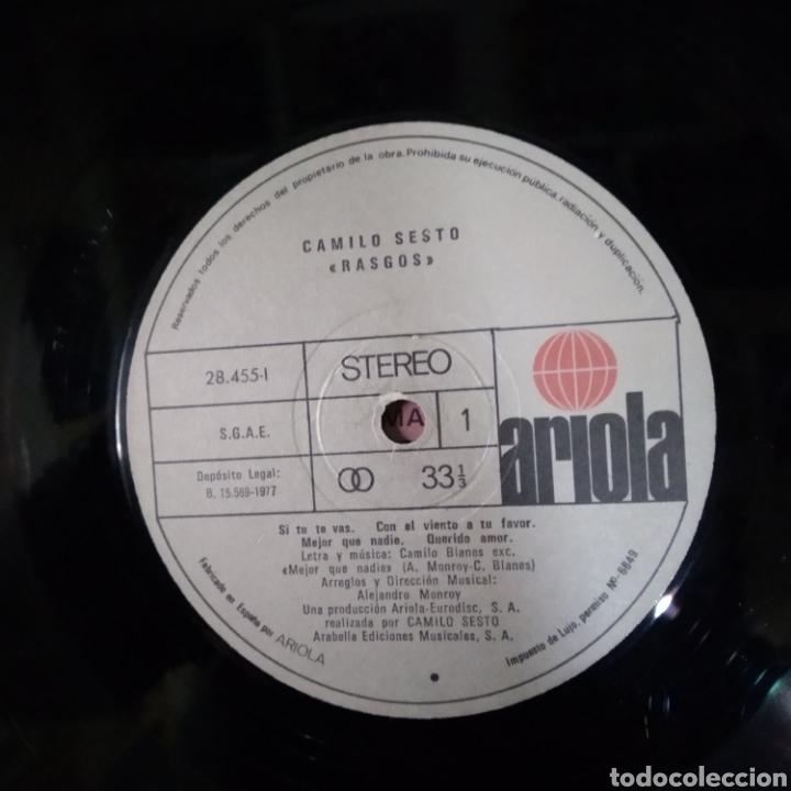 Discos de vinilo: Camilo sexto rasgos - Foto 3 - 184751126