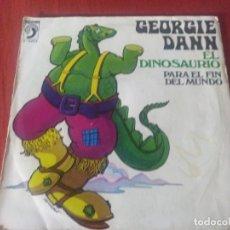 Discos de vinilo: GEORGIE DANN EL DINOSAURIO. Lote 184752150