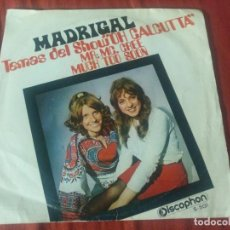 Discos de vinilo: MADRIGAL MR.MC.CREE. Lote 184755008