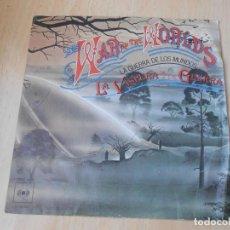 Discos de vinilo: THE WAR OF THE WORLDS (LA GUERRA DE LOS MUNDOS), SG, THE EVE OF THE WAR + 1, AÑO 1978. Lote 184758195