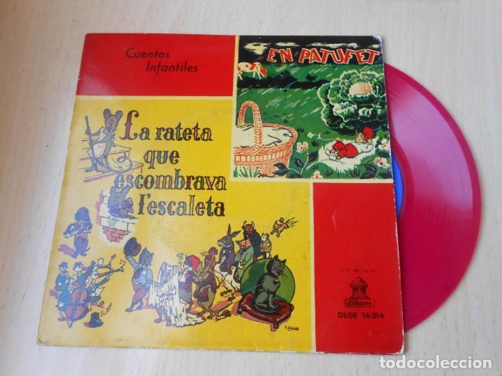 CUENTOS INFANTILES - EN PATUFET -, EP, EN PATUFET + 1, AÑO 1958 (Música - Discos de Vinilo - EPs - Música Infantil)