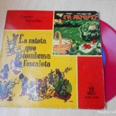 Discos de vinilo: CUENTOS INFANTILES - EN PATUFET -, EP, EN PATUFET + 1, AÑO 1958. Lote 184760361