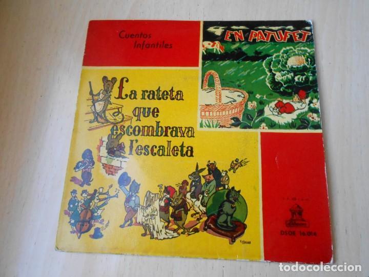 Discos de vinilo: CUENTOS INFANTILES - EN PATUFET -, EP, EN PATUFET + 1, AÑO 1958 - Foto 2 - 184760361