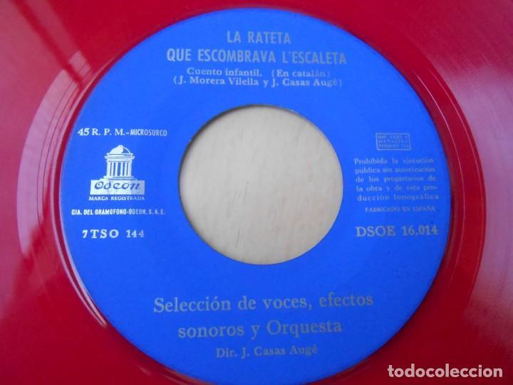 Discos de vinilo: CUENTOS INFANTILES - EN PATUFET -, EP, EN PATUFET + 1, AÑO 1958 - Foto 4 - 184760361