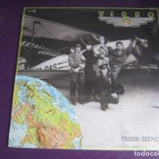 Discos de vinilo: VIDEO LP ZAFIRO 1984 PRECINTADO - CODIGO SECRETO - SYNTH POP - MOVIDA TECNO VALENCIA 80'S. Lote 184764507