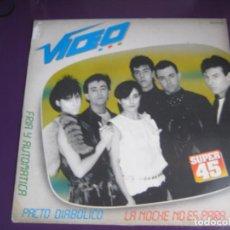 Discos de vinil: VIDEO MAXI SINGLE ZAFIRO 1983 - LA NOCHE NO ES PARA MI / FRIA Y AUTORITARIA/ PACTO DIABOLICO - SYNTH. Lote 184764936