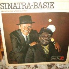 Discos de vinilo: FRANK SINATRA COUNT BASIE HISTORIC RECORD LP. Lote 184765926