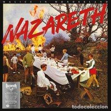 Discos de vinilo: NAZARETH - MALICE IN WONDERLAND (RED VINYL). Lote 184769607
