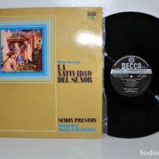 Discos de vinilo: SXL29062 MESSIAEN - LA NATIVIDAD DEL SEÑOR - SIMON PRESTON, ESPAÑA 1973 NM/VG+ . Lote 184769771