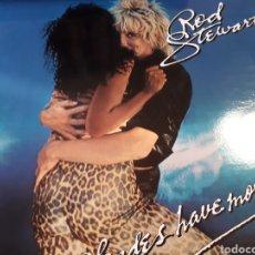 Discos de vinilo: ROD STEWART BLONDES HAVE MORE FUN. Lote 184777386