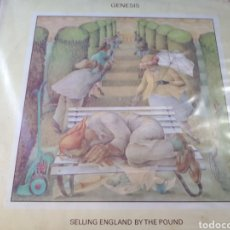 Discos de vinilo: GENESIS SELLING ENGLAND BY THE POUND. Lote 184778328