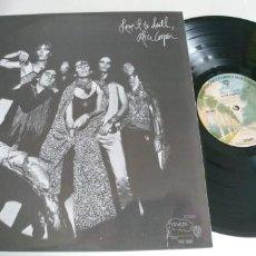 Discos de vinilo: ALICE COOPER-LP LOVE IT TO DEATH-USA . Lote 184782826