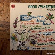 Discos de vinilo: ANNE SYLVESTRE – FABULETTES SELLO: DISQUES MEYS – 528 301 FORMATO: VINYL, LP, ALBUM, REISSUE, GAT. Lote 184785080