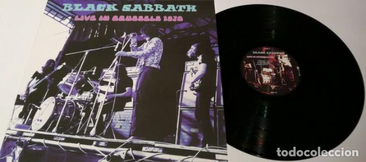 BLACK SABBATH – LIVE IN BRUSSELS 1970 -LP- (Música - Discos - LP Vinilo - Rock & Roll)
