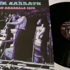Discos de vinilo: BLACK SABBATH ‎– LIVE IN BRUSSELS 1970 -LP-. Lote 194408062