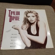 Discos de vinilo: TAYLOR DAYNE-WITH EVERY BEAT OF MY HEART. MAXI. Lote 184802026