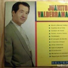Discos de vinilo: LP VINILO JUANITO VALDERRAMA GLORIA A MANUEL VALLEJO. Lote 184813817