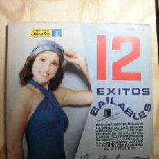 Discos de vinilo: LP VINILO 12 ÉXITOS BAILABLES LS DIPLOMÁTICOS. Lote 184815330