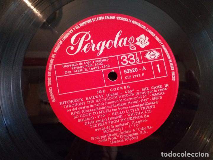Discos de vinilo: 9-LP 33 rpm JOE COCKER, pergolas, circulo de lectores, 1973 - Foto 7 - 184817907